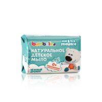 Bambolina Ми Ми Мишки 0 +  нежный аромат натуральное детское мыло 90 г