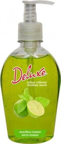 Deluxe мята-лимон  жидкое мыло 280 мл