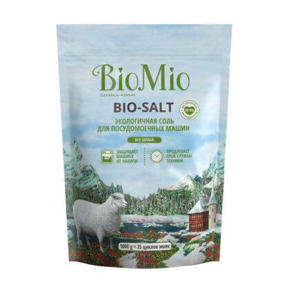 Bio Mio BIO-SALT соль экологичная для посудомоечной машины 1000 гр