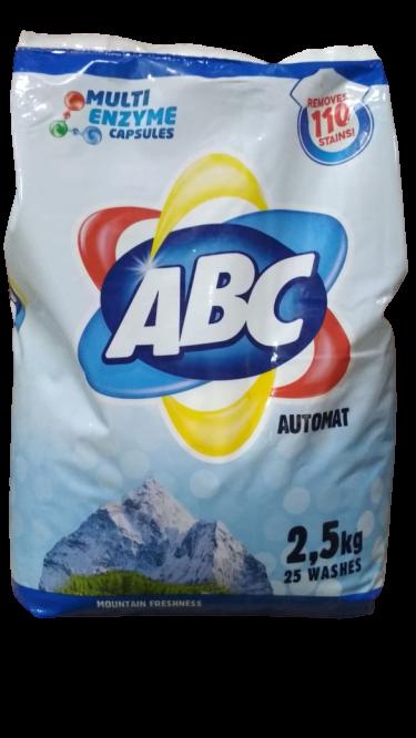 ABC Mountain Freshness автомат порошок 2