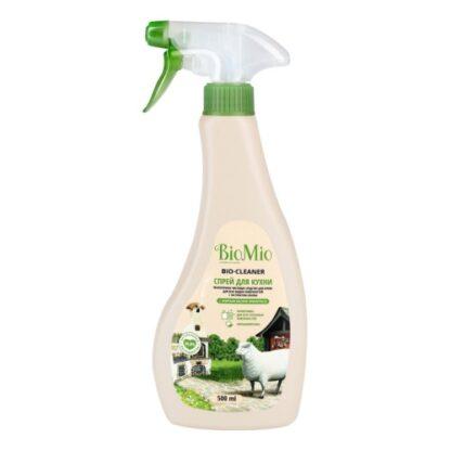 Bio Mio с маслом лемонграсса экологичное чистящее средство для кухни спрей 500 мл