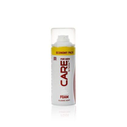 Carelax  classic soft Пена для бритья 400 мл