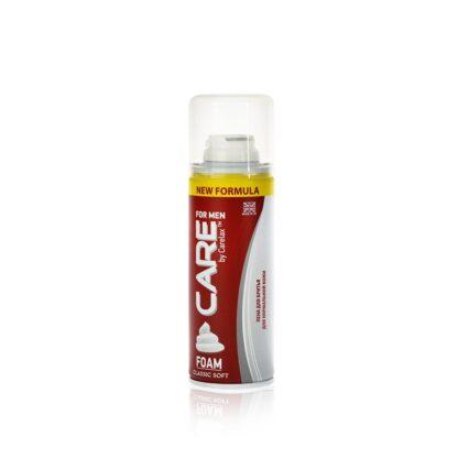 Carelax  classic soft Пена для бритья 200 мл