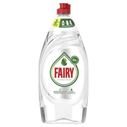 FAIRY Pure&Clean средство для мытья посуды 650 мл