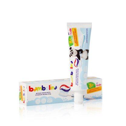 Bambolina for kids со вкусом лесных ягод от 8 лет детская зубная паста 50 мл