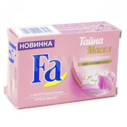 Fa тайна масел аромат розового жасмина крем-мыло 90 г