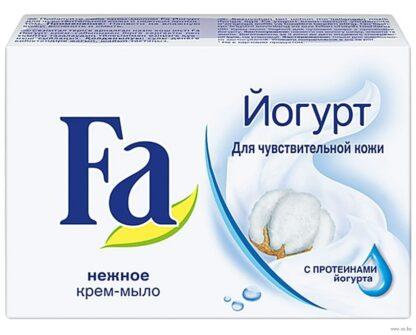 Fa йогурт для чувствительной кожи крем-мыло 90 г