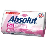 Absolut Cream 2 в 1 масло чайного дерева + пантенол нежное антибактериальное крем - мыло 90 гр