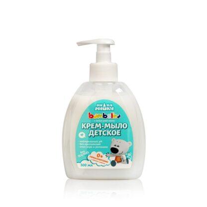 Bambolina Ми Ми Мишки 0 + детское жидкое крем-мыло 300 мл