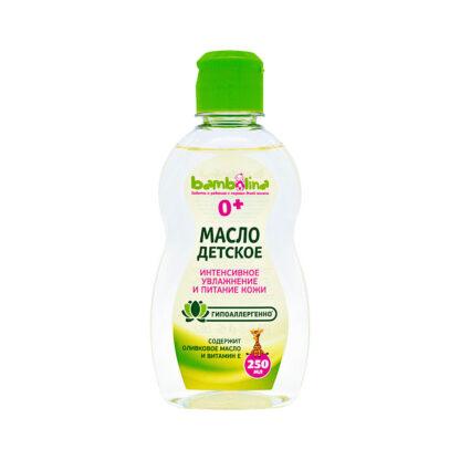 Bambolina питание и увлажнение гипоаллергенное 0 + детское масло 250 мл