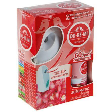 DO RE MI цветочное настроение освежитель воздуха+автоматический деспенсер+2 батарейки комплект