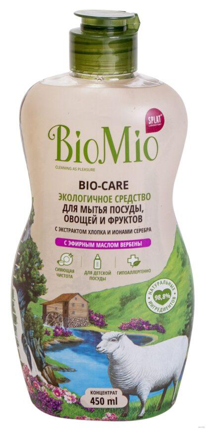 Bio Mio Вербена экологичное средство для мытья посуды
