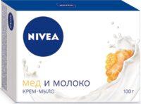NIVEA Мед и молоко Крем - мыло 100ГР
