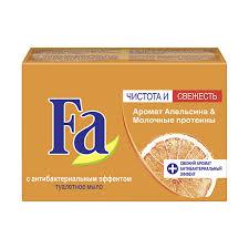 Fa аромат апельсина и молочные протеины туалетное мыло 90 г
