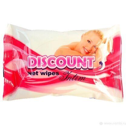 DISCOUNT Влажные салфетки для интимн гигиены 20 шт