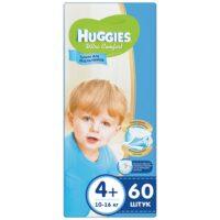 Huggies Ultra comfort подгузники для мальчиков 4+ (10-16 кг) 60 шт