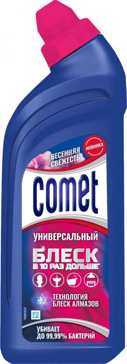 Comet весенняя свежесть универсальный чистящий гель 450 мл