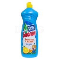 Биолан Апельсин и лимон средство для мытья посуды 900 мл