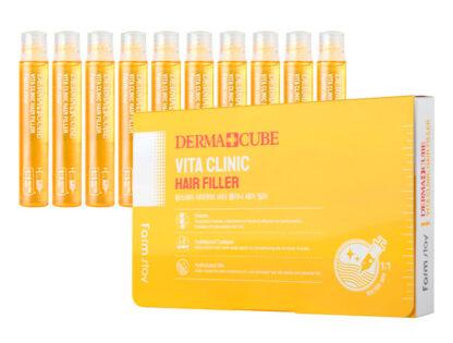 Farm stay Vita clinic с витаминами филлеры для волос 13 мл