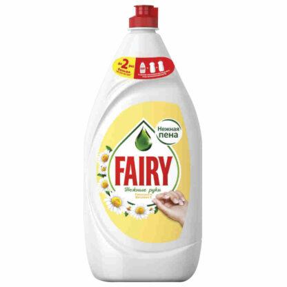FAIRY Нежные руки Ромашка и вит Е  средство для мытья посуды 1350 мл