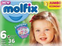MOLFIX подгузники 6 (15 +) 36 шт