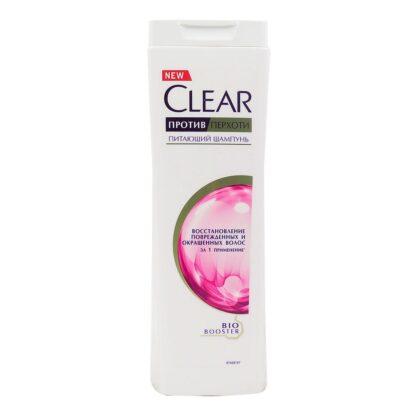 Clear восстановление поврежденных и окрашенных волос за 1 применение Питающий Шампунь 200 мл