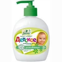 Весна Ухаживающее 0 + С экстрактом череды детское жидкое крем - мыло 280 гр