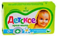 Весна С экстрактом ромашки детское мыло 90 гр