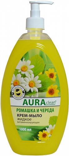 AURAclean Ромашка и череда жидкое крем-Мыло 1000 мл