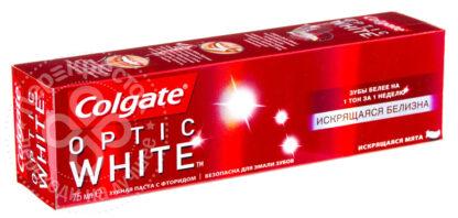 Colgate Optic White Искрящияся белизна зубная паста 75 мл