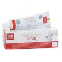 SPLAT Актив Здоровье десен и комплексный уход за полостью рта Зубная паста 40 мл
