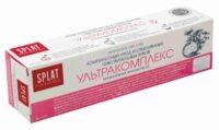 SPLAT Ультракомплекс Комплексный уход и отбеливание чувствительных зубов Зубная паста 40 мл