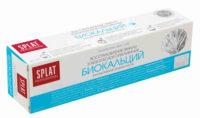 SPLAT Биокальций Восстановление эмали и безопасное отбеливание Биоактивная Зубная паста 40 мл