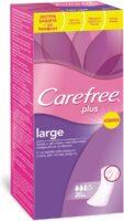 Carefree Plus Large ежедневные Прокладки 20 шт