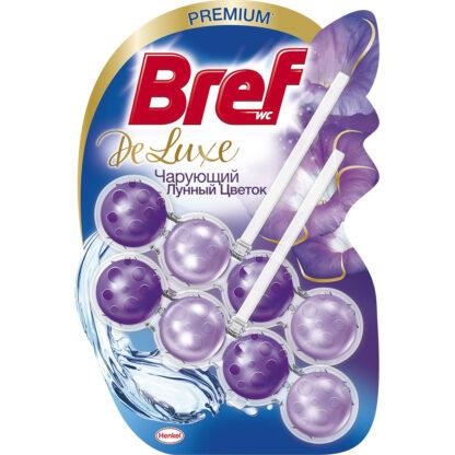 BREF De-Luxe Чарующий лунный цветок Чистящее средство для унитаза 2*50 г