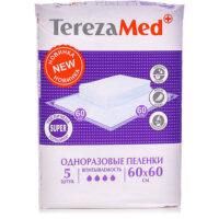 Tereza Med Super Одноразовые пеленки 60х60 5 шт