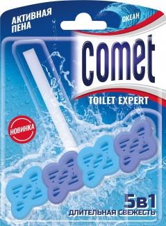 Comet Toilet Expert океан 5 в 1 блок для очищения унитаза 48 г