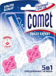 Comet Toilet Expert Полярный бриз 5 в 1 блок для очищения унитаза 48 г