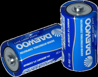DAEWOO D R20 солевые батарейки (цена за 1 шт)