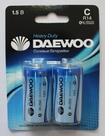 DAEWOO C R14 солевые батарейки (цена за 1 шт)
