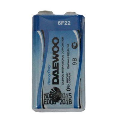 DAEWOO 6F22 9B солевые батарейки (цена за 1 шт)