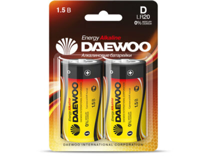 DAEWOO Energy Alkaline LR20 1