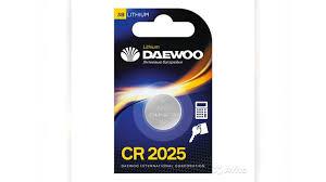 DAEWOO CR2025 литиевые батарейки (цена за 1 шт)