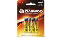 DAEWOO LR03 алкалиновые мизинчиковые батарейки (цена за 1 шт)