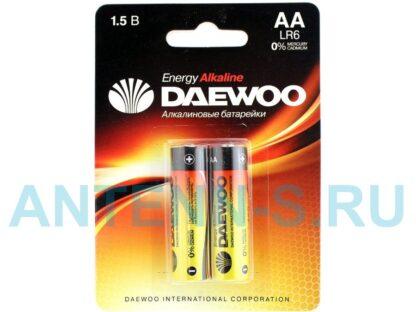 DAEWOO LR6 алкалиновые пальчиковые батарейки (цена за 1 шт)