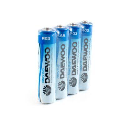 DAEWOO R03 солевые мизинчиковые батарейки (цена за 1 шт)