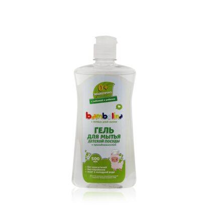 Bambolina для мытья детской посуды и принадлежностей ГЕЛЬ 500 мл