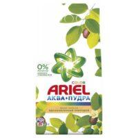 ARIEL Color Аква - Пудра с ароматом масла ши автомат Порошок 3 кг