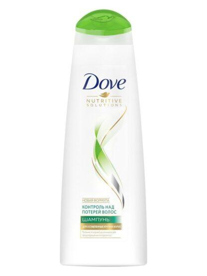 Dove Контроль над потерей волос для ослабленных хрупких волос шампунь 380 мл