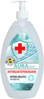 AURAclean Антибактериальное жидкое Крем-Мыло 1000 мл